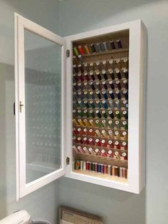 Could this be made out of a medicine cabinet? http://www.quiltylove.com