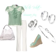 Summer Style, created by generousgems on Polyvore