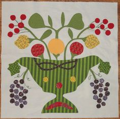 Humble Quilts: Jenseits der Kirschbaumblöcke - Beyond the Cherry Trees - Obstgarten Tree Quilt, Cherry Tree, Applique, Kids Rugs, Baltimore, Quilts, Fabric, Trees, Album