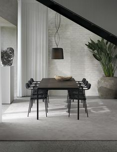 Vipp Presents Its First Chair in 80 Years - Design Milk Swedish Design, Danish Design, Room Interior, Interior Design, Large Table, Higher Design, Round Corner, Elegant Homes, Furniture Design