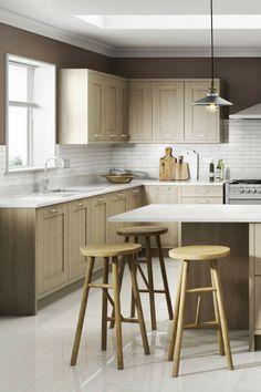 Landhausküche, Küche Im Landhausstil, Skandinavischer Landhausstil, Küche,  Holzfronten, Holzküche, Kassettenfronten
