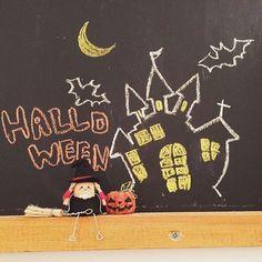 ハロウィンコルクアート、黒板アレンジ♡ 可愛い☆ #kawaii #株式会社happybridalproject #コルクアート #新郎新婦 #ブランコ #DIY #リクエスト #結婚準備をワクワクする #結婚式 #オーダーメイドウェディング #手作り結婚式 #ウェディングアイテム Halloween Chalkboard, Chalkboard Art, Marker, Chalk Art, Art Boards, Diy And Crafts, Photo And Video, Image, Instagram