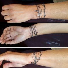 Wrist Bracelet Tattoo For Girls Tattoos Tattoo Bracelet Tattoos