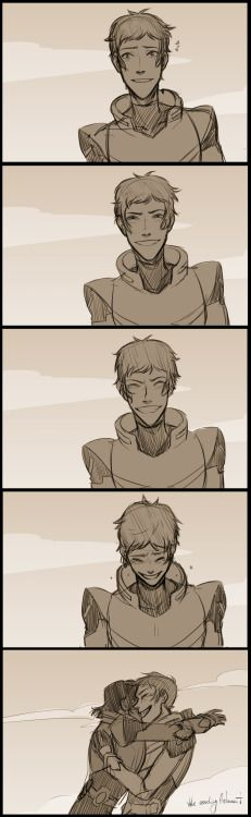 Lance is adorable and I love him  (and the entire space fam)