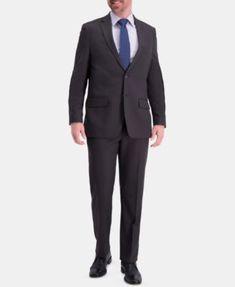 1ba13581a8d Haggar Men Active Series Herringbone Classic-Fit Suit Separate Jacket