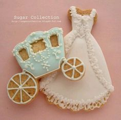 Cinderella carriage and dress
