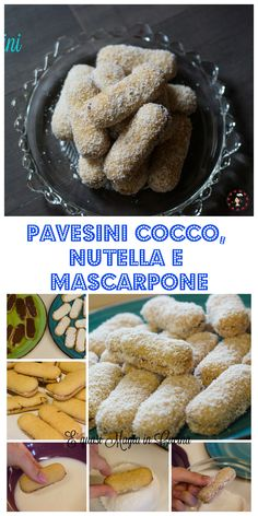 Pavesini cocco nutella e mascarpone