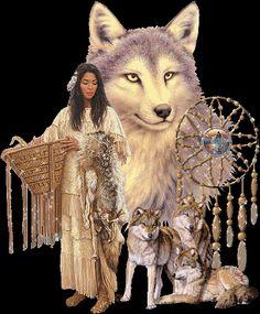 Los Indios Americanos siempre han considerado a los lobos como