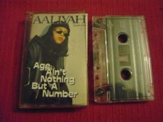 Aaliyah Age Ain`T Nothing But A Number Cassette Tape 1994 Made in Canada | eBay