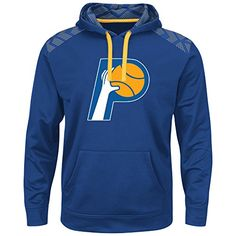 the best attitude d1dba 38696 Amazon.com   Indiana Pacers NBA Men s Therma Base Armor Hoodie (Medium)    Sports   Outdoors