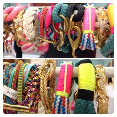 Great assortment of bracelets at snappy turtle.