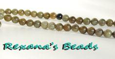 "16"" Labradorite 8mm Round Beads. Starting at $5 on Tophatter.com!"