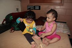 My Grand Daughters Nerjis and Zaira Fight For My Wallet