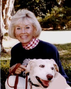Doris Day. A shared love of animals and being fair and kind to others. I respect her convictions and few movies can interrupt my schedule like a good Rock Hudson or James Garner romp. Adore her on and off the screen.