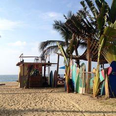 Sayulita Surf beach - by Ninon Sire