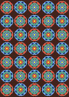 Korean Traditional Pattern Design [단청] on Behance Graphic Patterns, Print Patterns, Graphic Design, Korean Traditional, Traditional Decor, Korean Art, Asian Art, Pattern Art, Pattern Design
