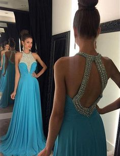 blue prom dresses, long prom dresses, 2017 prom dresses, dresses for women, beaded prom dresses, fashion dresses