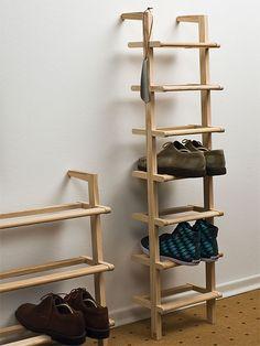Unique Shoe Organizer For A Decluttered Closet – DIY Room Organization Ideas - Schuh Schrank