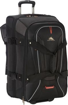 Buy the High Sierra 26 inch Wheeled Duffel with Backpack Straps at eBags - Pack clothing and essentials for all types of travel inside this rolling duffel bag from High Sierra Suitcase Sale, Large Suitcase, High Sierra Backpack, North Face Backpack, Travelon Bags, Backpacking Hammock, Rolling Bag, Backpack Straps, Luggage Sets