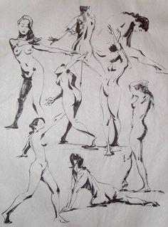 Superbes planches de dessins de l'artiste Kirk Shinmoto aka Dangerousllama