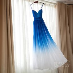 Bridesmaid dresses in vibrant colors; in primary colors
