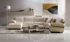 Luxury Sectional Sofa by Natuzzi Italy