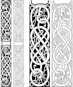 Irish Tattoos, Celtic Tattoos, Viking Tattoos, Pagan Tattoo, Norse Tattoo, Celtic Tribal, Celtic Art, Viking Designs, Celtic Designs