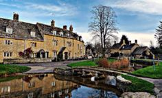 A Cotswold Village Lower Slaughter, Gloucestershire, England