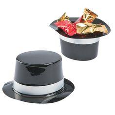 $4.50 Per Dozen  Mini Black Top Hats - OrientalTrading.com