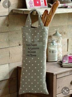 Fait Main Sac Porte-Support de rangement cuisine Sac Reuse polka dot tissu