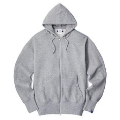 LOOPWHEELER LW Extra light Zip up hoodie