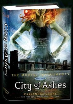 City of Ashes is the second installment in Cassandra Clare's young adult series The Mortal Instruments.