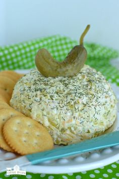 Dill Pickle Cheeseball - the ulitmate party food