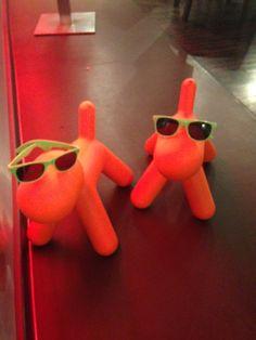 Pierre (aka Wonder dog) and Nipper rocking their sunnies on HMS President! Brand Ambassador, Sunnies, Dinosaur Stuffed Animal, Orange, Dogs, Animals, Animales, Sunglasses, Animaux