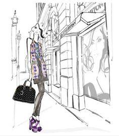 Deze papieren poppen van Louis Vuitton kun je downloaden, uitknippen en aankleden met de lente/zomercollectie van 2013.  Zo heeft iedereen, ook zonder centen, een echt Vuittonnetje.    #lindamagazine