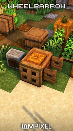 Minecraft Garden, Minecraft Tips, Minecraft Farm, Minecraft Cottage, Minecraft House Tutorials, Minecraft Medieval, Cute Minecraft Houses, Minecraft House Designs, Minecraft Construction