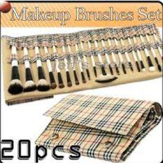 Burberry makeup brushes omg