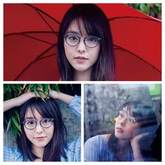 Beautiful Japanese Girl, She Was Beautiful, Asian Glasses, Female Face, Girls With Glasses, Woman Face, Erika, Specs, Ulzzang