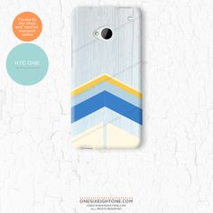 Wood chevron HTC One Cover - Etsy