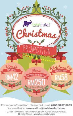 Hotel Maluri - Christmas Promotion 2014