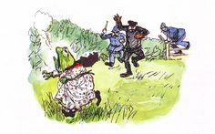 E.H. Shepard Wind in the Willows | Shepard - The wind in the willows