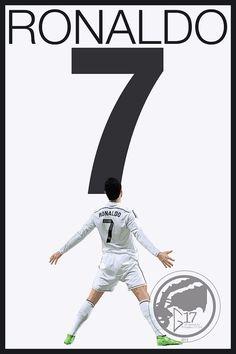 Real Madrid Ronaldo Poster  Portugal Soccer Poster Madrid