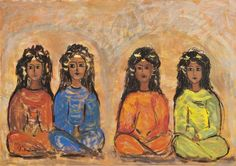 View Quatre jeunes filles by Tahia Halim on artnet. Browse upcoming and past auction lots by Tahia Halim. Egyptian Art, Global Art, Art Market, 3, Past, Harry Potter, Auction, Number, Painting