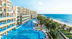 One of the most luxurious All Inclusive Resorts in Riviera Maya. Discover an incredible family experience in this amazing resort in the heart of Riviera Maya, and enjoy of beautiful sunny beaches in your next All Inclusive Vacations Cancun Hotels, Mexico Resorts, Mexico Vacation, Vacation Deals, Cancun Mexico, Beach Hotels, Vacation Spots, All Inclusive Family Resorts, All Inclusive Honeymoon