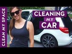 How to Clean the Car! (Clean With Me) Car Cleaning, Diy Cleaning Products, Spring Cleaning, Cleaning Hacks, Cleaning Supplies, Clean My Space, Clean Up, Space Car, Clean My House