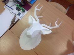 My dear deer - Paper craft | Abduzeedo