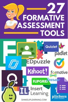 Formative assessment is such an essential part of the learning process and student success, and many digital tools can help support this process. Here are 37 formative assessment tools to use in your classroom! Formative Assessment Strategies, Teaching Strategies, Teaching Tools, Kindergarten Assessment, Reading Assessment, Classroom Assessment Techniques, Newborn Assessment, Teaching Resources, Teaching Biology