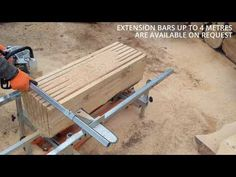 Chainsaw Mill, Wood Tools, Milling, Planks, Woodworking, Youtube, Planking, Boards, Carpentry