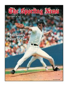 New York Yankees P Ron Guidry - October 28, 1978