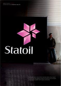 Statoil Corporate Identity by Scandinavian Design Group , via Behance